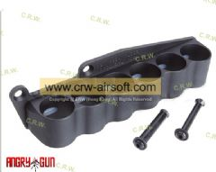 Angry Gun CNC 6 Shells Carrier for Marui M870 Shotgun